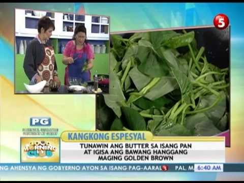 News5E     RECIPE: 'KANGKONG ESPESYAL'   GMC JULY 12, 2013