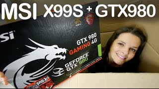 MSI X99 GTX980 gaming unboxing review en espaol