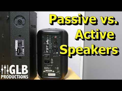Active vs. Passive Loudspeakers for Live Sound