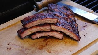 005 - Baby Back Ribs/ Spare Ribs Aus Dem Smoker (offset Smoker/ Spare Ribs)