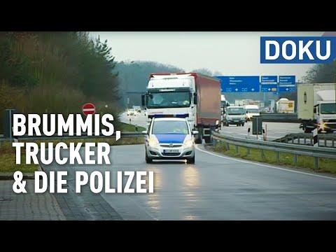 Brummis, Trucker und die Polizei - 'hessenreporter'