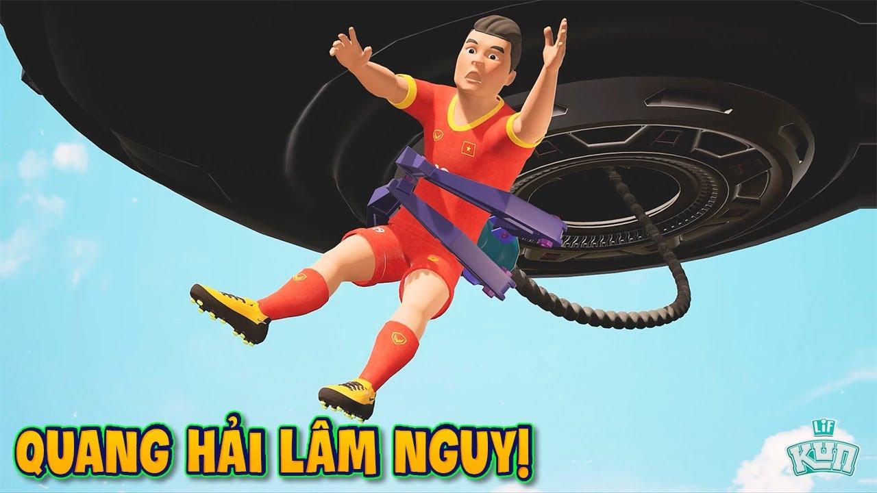 Phim Hoạt Hình - Cầu Thủ Quang Hải Gặp Nguy!