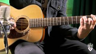 Guild Westerly Collection M-140 Acoustic Guitar Demo