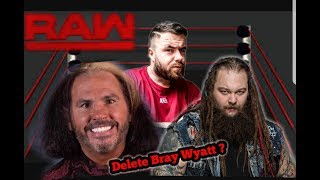 REACTION RAW MATT HARDY VOW TO DELETE BRAY WYATT 5/12/17