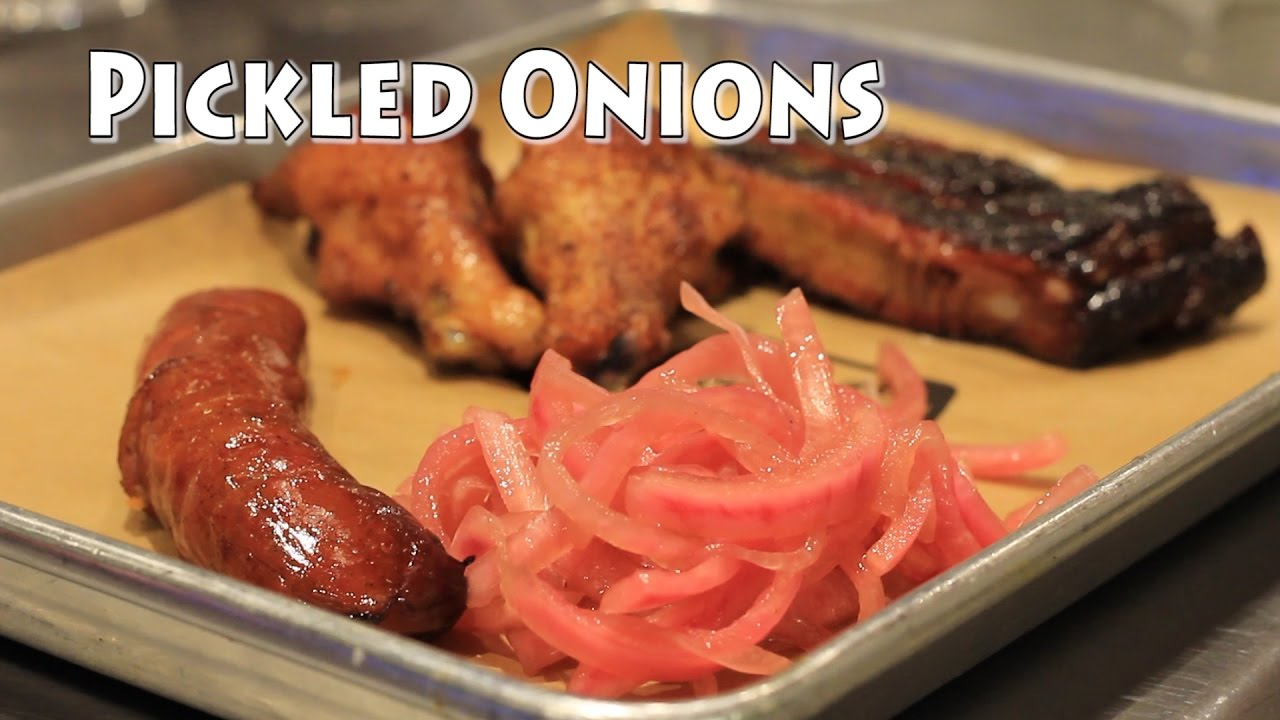 Pickled Red Onion Recipe - How to Pickle Onions