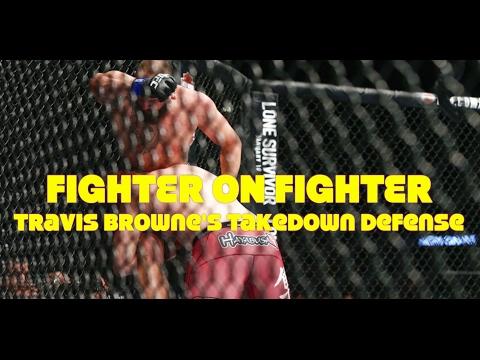 Fighter On Fighter: Travis Browne's Takedown Defense Technique - UFC 'Halifax'