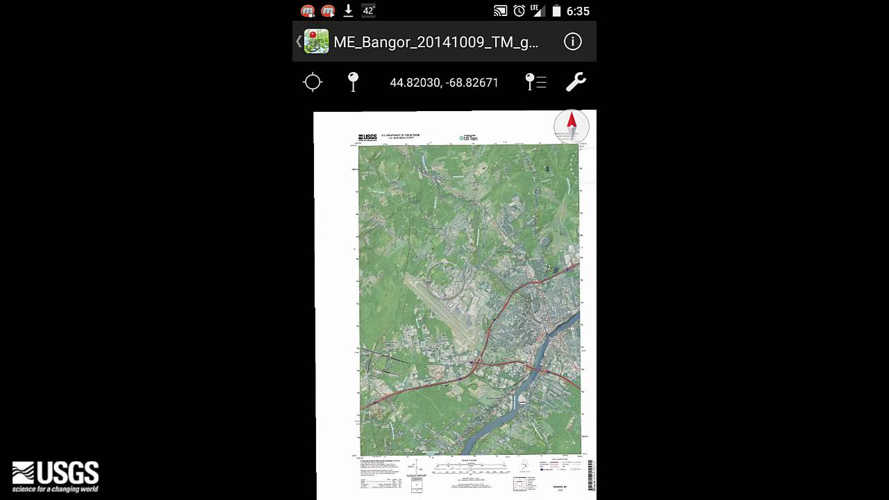 Using US Topo and Historic Topo Maps on your Mobile Device