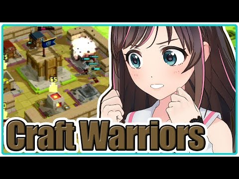 【Craft Warriors】この街は私が復興するのじゃー!【Indie Games Festival 2018】