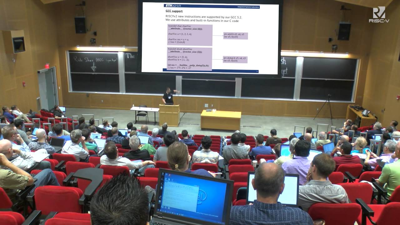 Wednesday @ 1000 DSP ISA Extensions for an Open Source RISC V  Implementation Pasquale Davide Sch