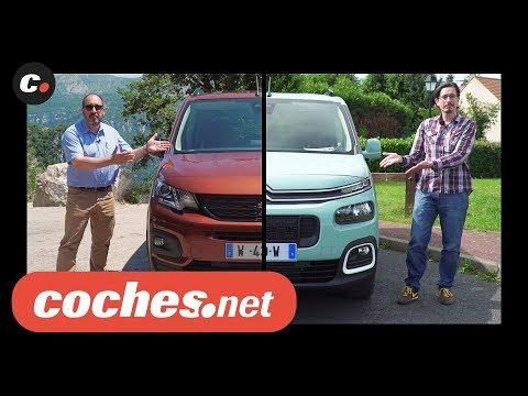 Citroën Berlingo - Peugeot Rifter (Partner) 2019 | Prueba / Test / Review en español | coches.net