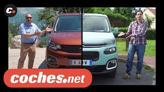 Citroën Berlingo vs Peugeot Rifter (Partner) | Prueba / Test / Review en español | coches.net