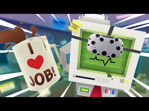 SILLY MAN COPIES 1 MILLION DOLLARS OF MONEY AND BECOMES RICH AND FAMOUS - Job Simulator VR Gameplay