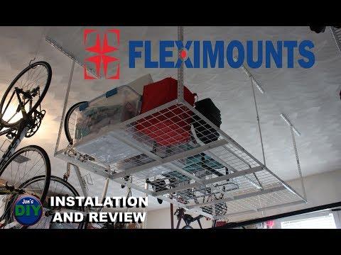 Fleximount Garage Rack installation and Review / Jon's DIY