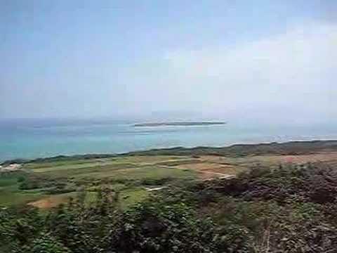 小浜島最高峰。大岳からの景色(北・東)