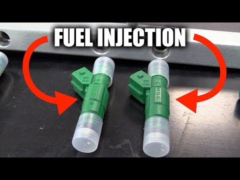 How Fuel Injection Works - Direct vs Port Injectors