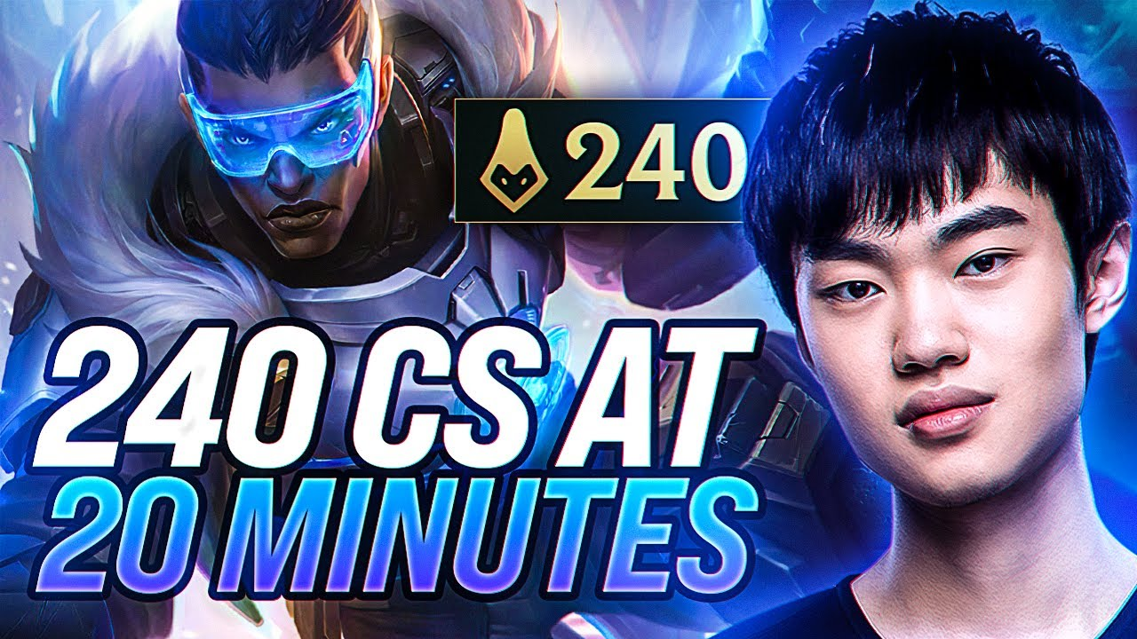 240 CS at 20 Minutes??? KNIGHT Lucian Mid is like NOTHING YOU'VE SEEN BEFORE!