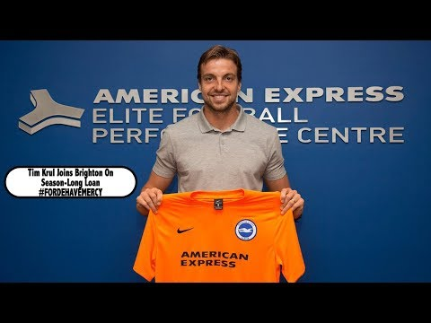 COMPLETED: Tim Krul Joins Brighton On Season-Long Loan #FordeHaveMercy