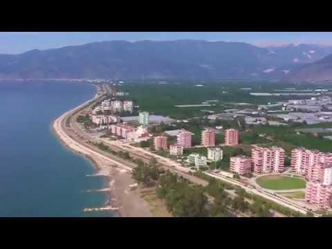 Antalya Face - Kumluca Finike Arası Kuşbakışı