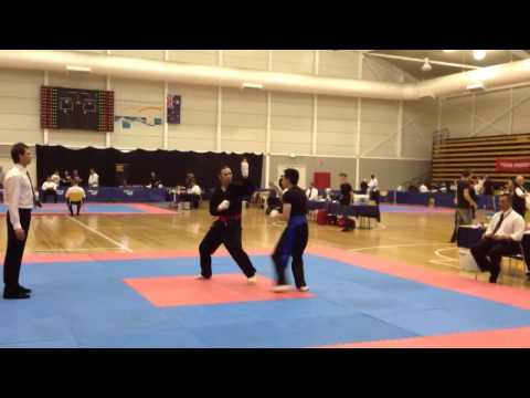 NAS Round 1 Wing Chun vs Indonesian Silat Melbourne 2012
