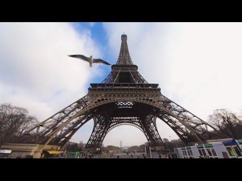 360 VR Tour | Paris | Eiffel Tower | Tour Eiffel | All Levels | Air Panoramic View | No Comment Tour