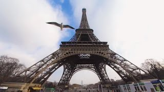 360 VR Tour | Paris | Eiffel Tower | Tour Eiffel | All levels | Air panoramic view | No comment tour