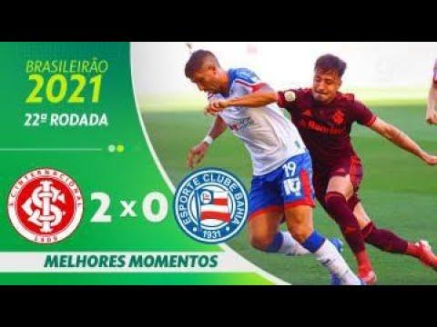 Download INTERNACIONAL 2 x 0 BAHIA   MELHORES MOMENTOS   22ª RODADA BRASILEIRÃO 2021  ge.globo