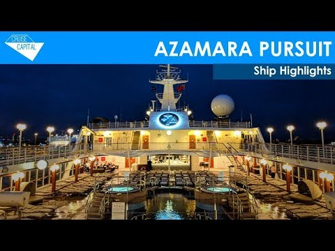 Azamara Pursuit Ship Tour Highlights (Azamara Cruises)