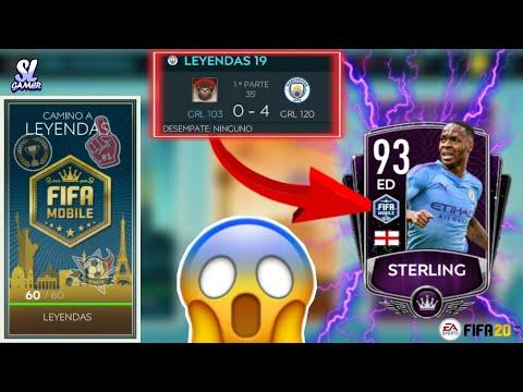 SACAMOS A STERLING 93 LEYENDA!! *TIPS PARA GANARLO*//FIFA20 MOBILE 🔥⚽🔥⚽🔥