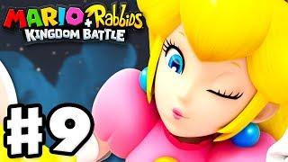 Mario + Rabbids Kingdom Battle - Gameplay Walkthrough Part 9 - World 3: Spooky Trails!