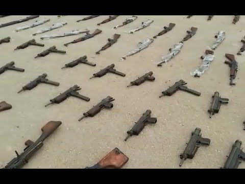 More weapons seized in Syria | December 19th 2017 | South Idlib province