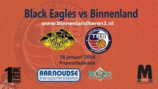 Black Eagles vs Binnenland Heren 1