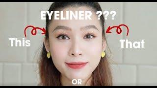 Eyeliner Tutorial For Asian Girl - Cách vẽ Eyeliner cực đỉnh cho người châu Á 👁