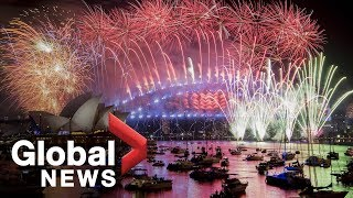 New Year's 2019: Full Sydney Fireworks Display