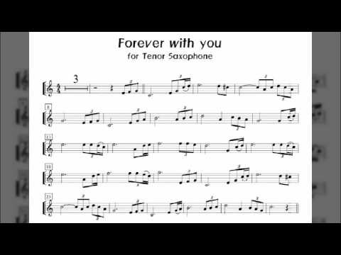 """""""Forever With You"""" Tenor Saxophone Covered By Eunsan Kim 김은산 연주"""
