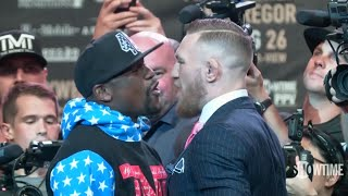 Floyd Mayweather vs. Conor McGregor: LA press conference best bits