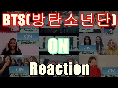 (Kpop Reaction Mashup/케이팝 해외반응) BTS(방탄소년단) – 'ON'(Kinetic Manifesto Film : Come Prima)