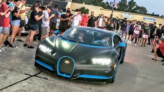 Bugatti Chiron SHUTS DOWN Cars Across Texas Car Show!