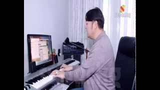Kompozitor Maksat Sulaimankulov. Maksat Bishkek tobunun solisti. super kg