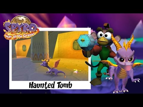 Spyro 3: Year of the Dragon - Haunted Tomb