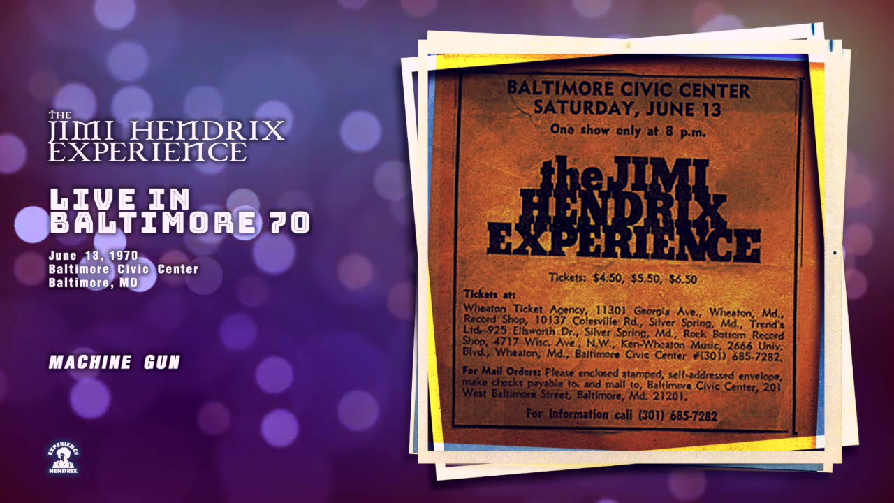 1970-06-13 | The Jimi Hendrix Experience: Live In Baltimore '70