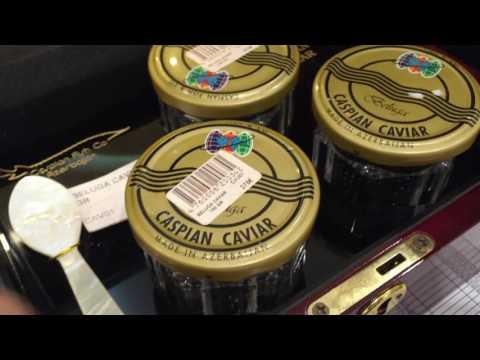 Best Caviar In The World , Beluga , Baku , Azerbaijan - Omurduztas