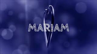 ♪♪ HAPPY BIRTHDAY MARIAM ♪♪