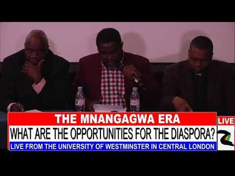 Zimbabwe Diaspora meet in London to discuss the post Mugabe