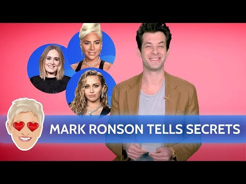 Chris Davis - Mark Ronson Spills Secrets on Miley, Gaga, Adele, Bruno Mars, and More!