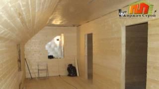 видео Внутренняя отделка мансарды дома фото