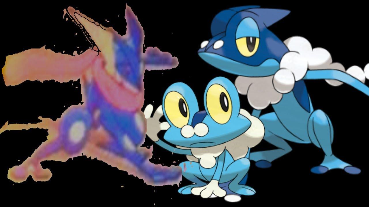 Froakie Final Evolution Greninja New Pokemon Revealed
