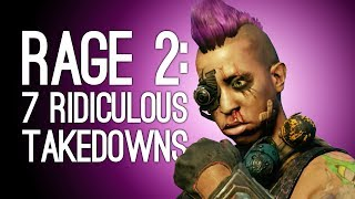 Rage 2 Gameplay: 7 Ludicrous Ways You