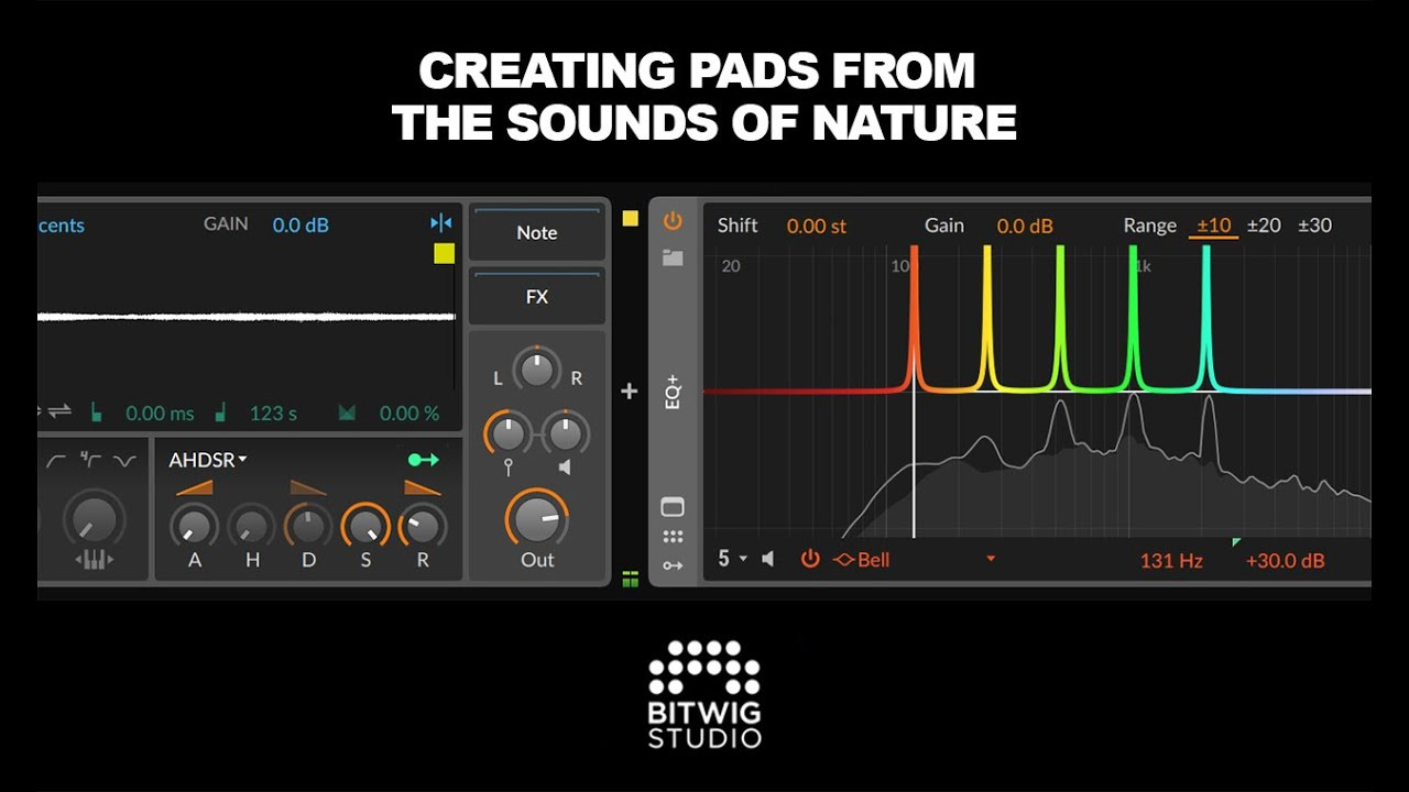 Creating Pads From The Sounds Of Nature