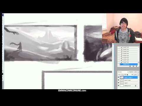 The KNKL SHOW Episode #79: How to draw BACKGROUNDS