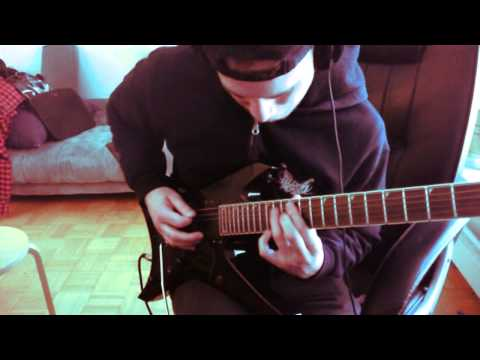 Revocation - Reanimaniac guitar solo cover.